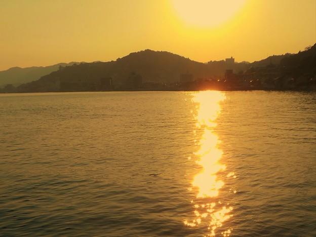 しまなみ海道・千光寺山の夕陽