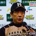 Photos: 日本シリーズ第6戦を制し 優勝した日本ハム 栗山英樹監督
