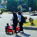 写真: ママ友たちの散歩道