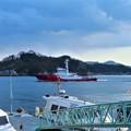 Photos: 海上保安庁前の幸鶴丸