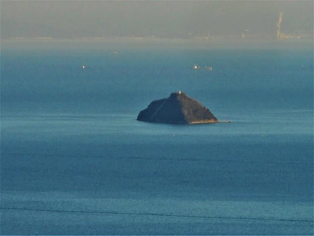 燧灘の遥か遠く 四国沿岸が観える日 in 向島・高見山展望台