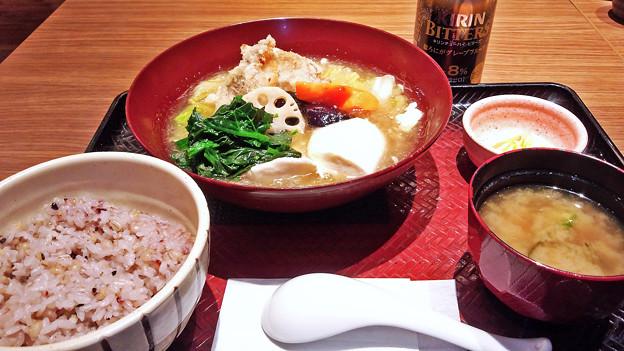 大戸屋 ( 成増 )  すけそう鱈の生姜みぞれあん定食        2017/03/12