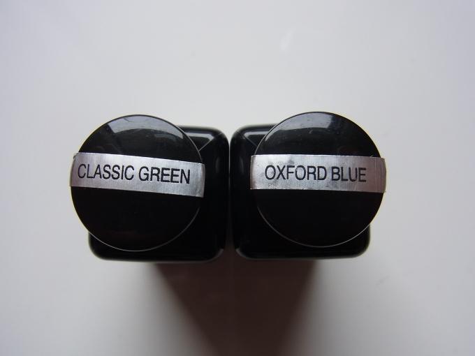 Diamine CLASSIC GREEN & OXFORD BLUE
