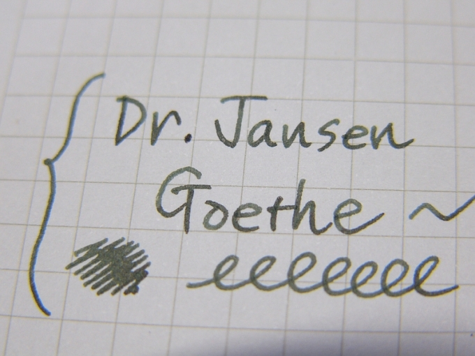 Goethe handwriting