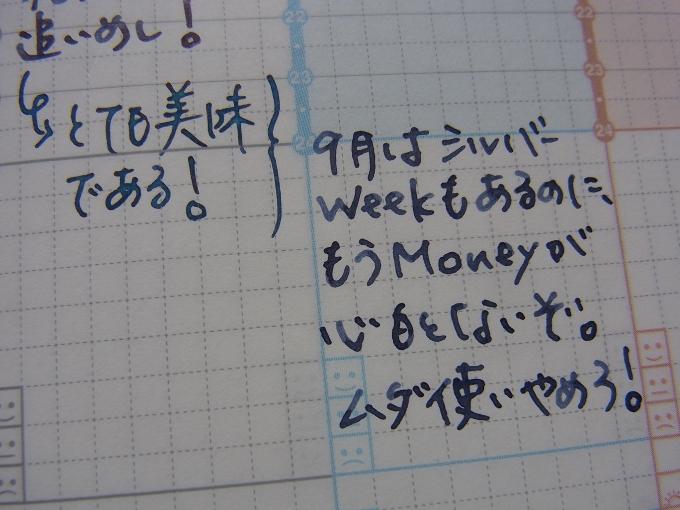 ジブン手帳 或る日の筆記