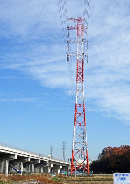 東京中線2056号鉄塔