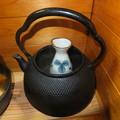 Photos: 鉄瓶で燗