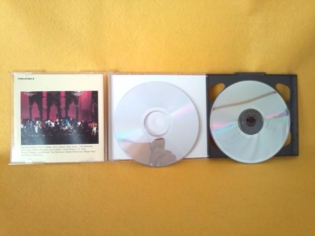 ラスト・ワルツ ザ・バンド ライブ CD 2枚組 裏