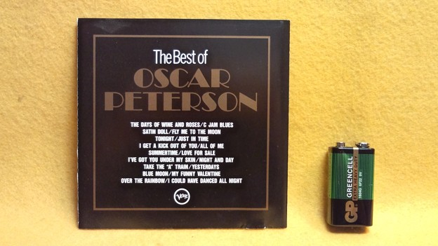 The Best of OSCAR PETERSON CD