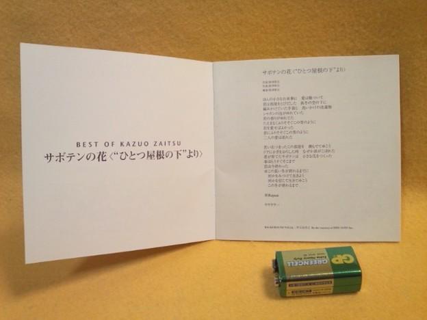 """ベスト オブ 財津和夫~サボテンの花 """"ひとつ屋根の下より"""" CD アルバム"""