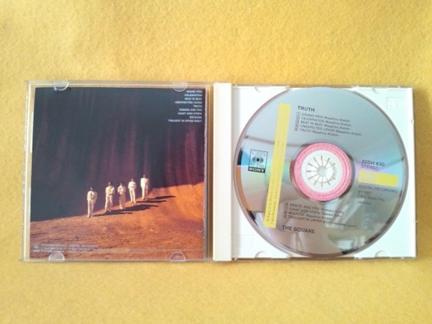 THE SQUARE TRUTH CD グランプリ