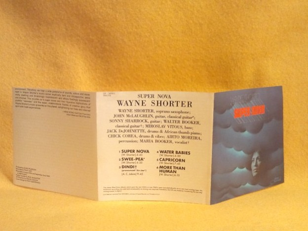 Super Nova Wayne Shorter CD