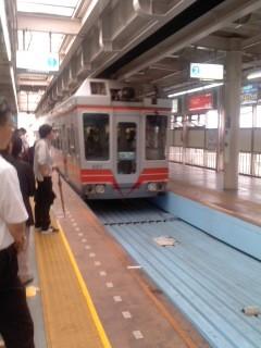 湘南モノレール・大船駅(7月4日)