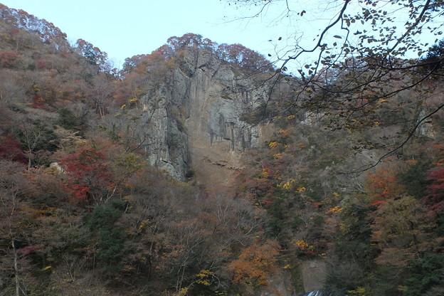紅葉_袋田の滝 F8701