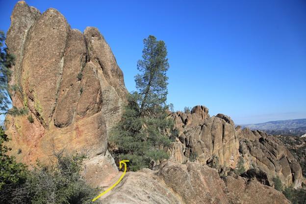 Pinnacles NPのトレイル (6)