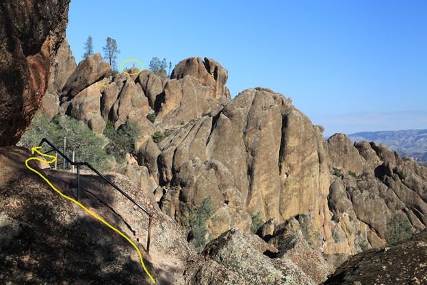 Pinnacles NPのトレイル (7)