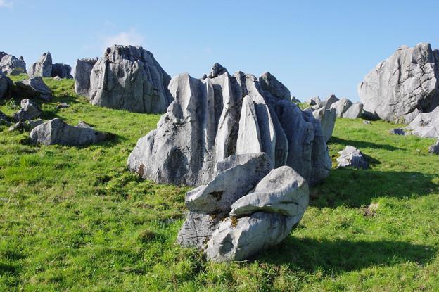 Photos: カルストの岩