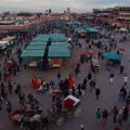 Photos: ジャマ・エル・フナ市場1
