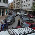 Photos: 街は渋滞