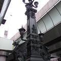 写真: 日本橋麒麟像