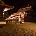 写真: 荘厳な吉備津彦神社