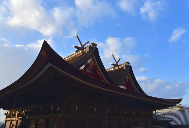写真: 伝承 吉備津神社