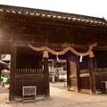 写真: 吉備津彦神社正門