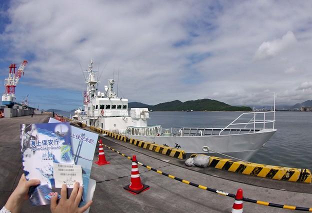 IMGP9945魚眼海の日SP巡視船くろかみ潜入記