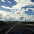 写真: 栃木の空は広い