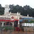 写真: 雨の寄居PA