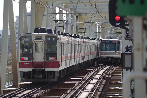 【東武鉄道】6050系 【東京メトロ】03系
