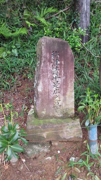 長篠設楽原合戦場(新城市)禰津甚平是広之墓