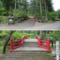 大洞院(周智郡森町)太鼓橋