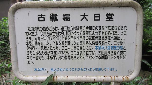 三ヶ野坂古戦場(磐田市)