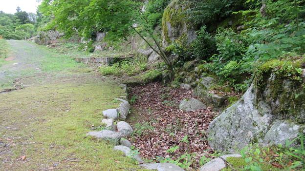 苗木城(中津川市苗木)二の丸・居館