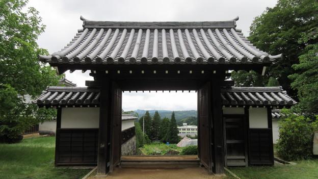 岩村藩 藩校(恵那市)知新館 正門