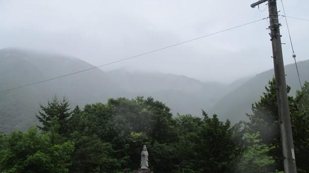 Photos: 帰雲城(白川村)帰雲山