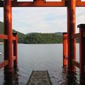Photos: 箱根神社(箱根町)平和の鳥居・芦ノ湖