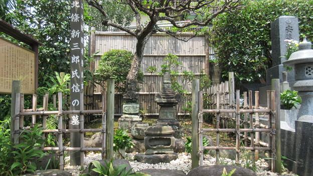 祐泉寺(三島市)北条新三郎氏信墓