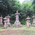 本立寺(伊豆の国市)開山優婆塞日久墓
