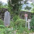 修禅寺奥の院(正覚院。伊豆市)石仏・いぼ石