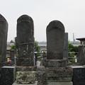 医王寺(富士市)山本勘助供養塔・吉野貞久墓碑