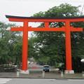 写真: 富士山本宮浅間大社(富士宮市)西鳥居