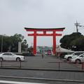 写真: 富士山本宮浅間大社(富士宮市)第二鳥居