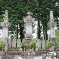 西山本門寺(富士宮市)御三代(日蓮・日代・日興)墓所