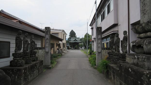 正覚寺(沼田市)参道