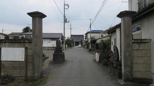 天桂寺(沼田市)参道