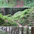 岩櫃城/岩櫃山(東吾妻町)二の丸堀切・土塁