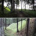 岩櫃城/岩櫃山(東吾妻町)二の丸