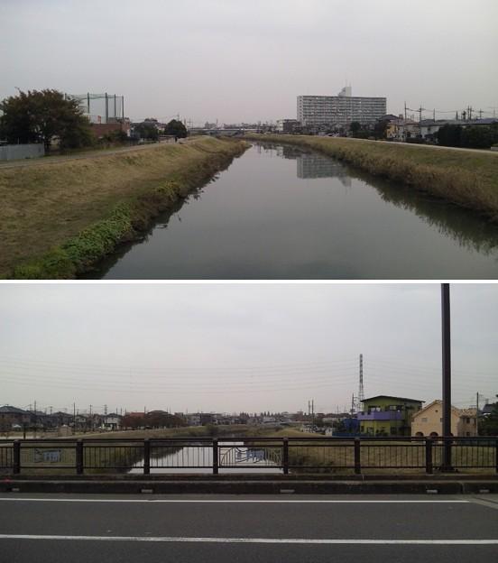 Photos: 綾瀬川一ノ橋(越谷市)近藤勇護送路